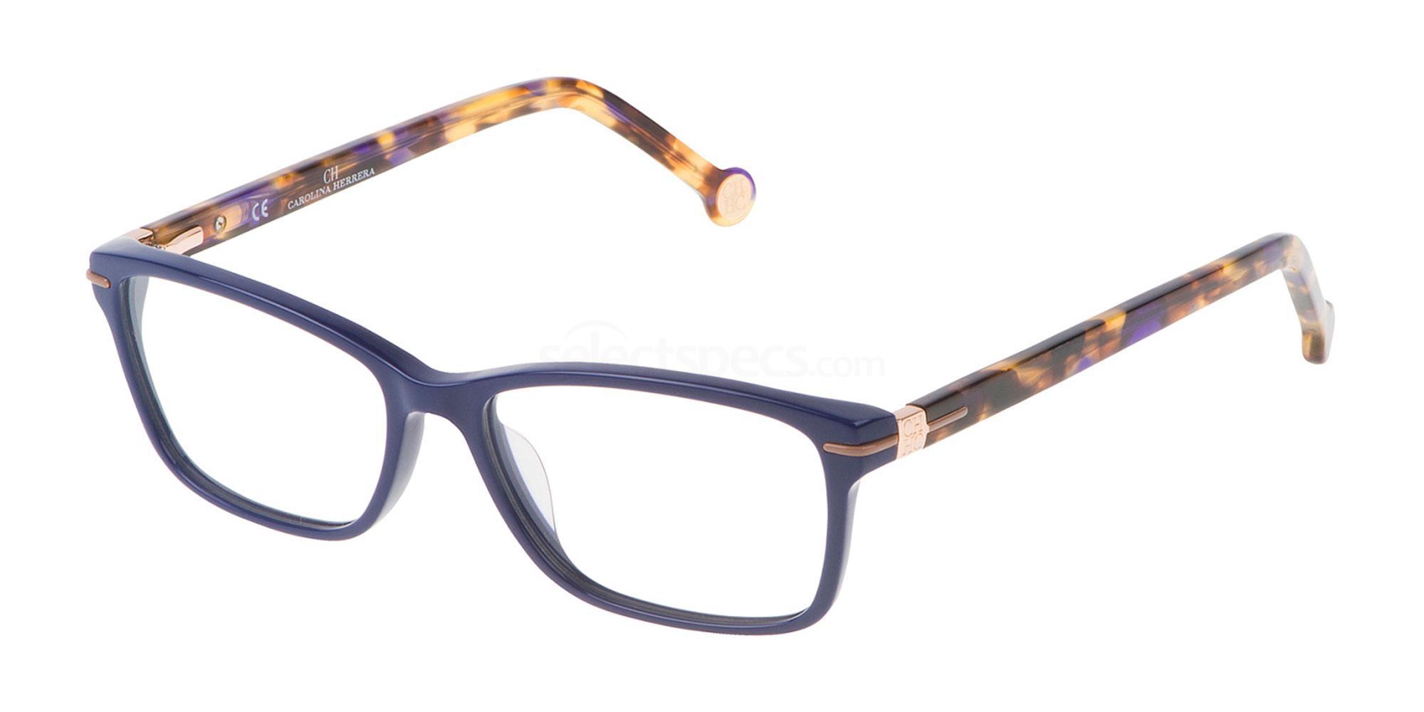 0991 VHE661 Glasses, CH Carolina Herrera