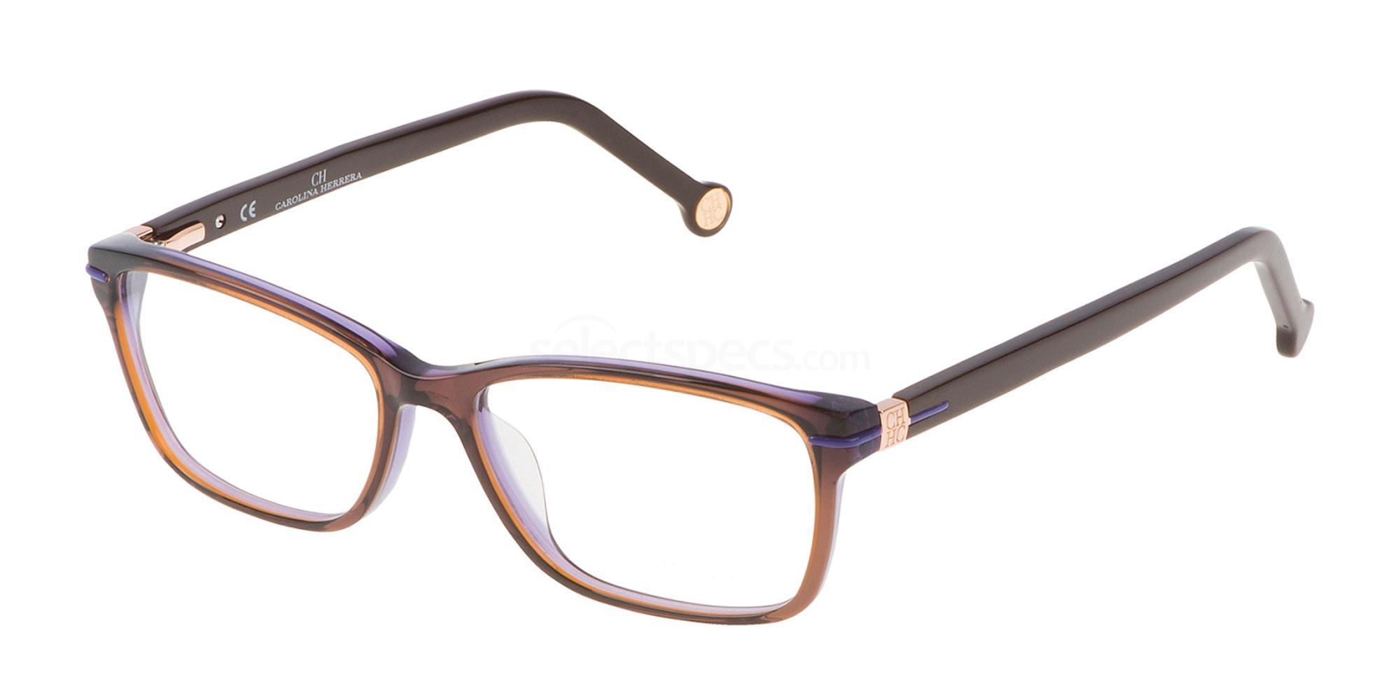 09FE VHE661 Glasses, CH Carolina Herrera