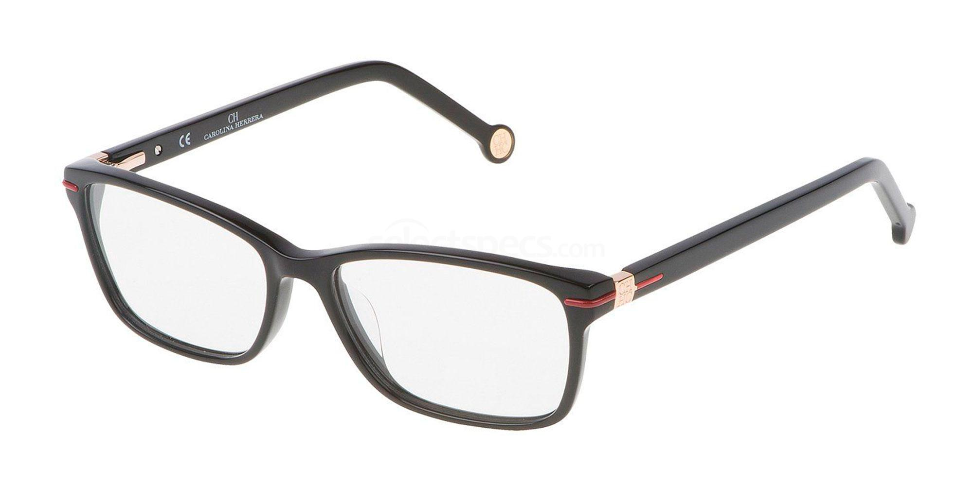 0700 VHE661 Glasses, CH Carolina Herrera