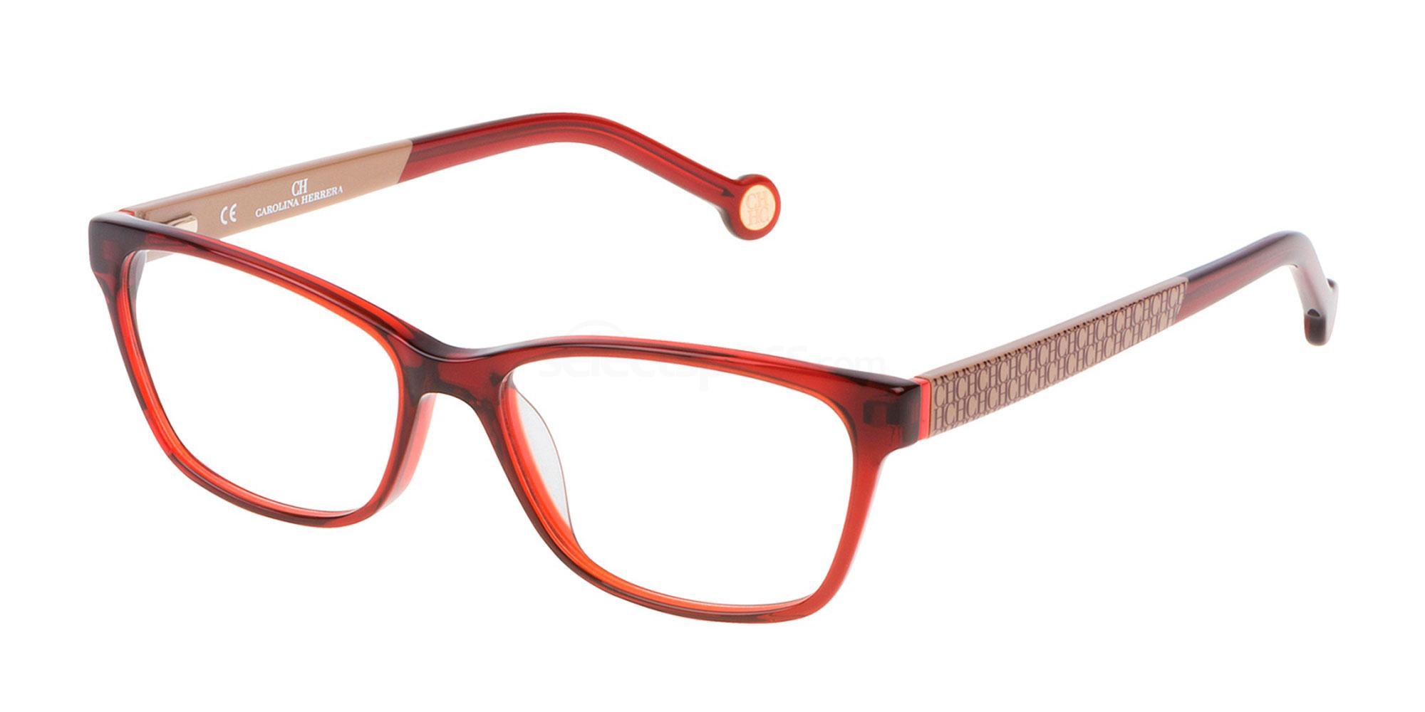 06DC VHE663 Glasses, CH Carolina Herrera