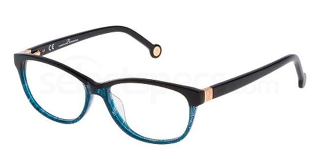 0911 VHE626 Glasses, CH Carolina Herrera