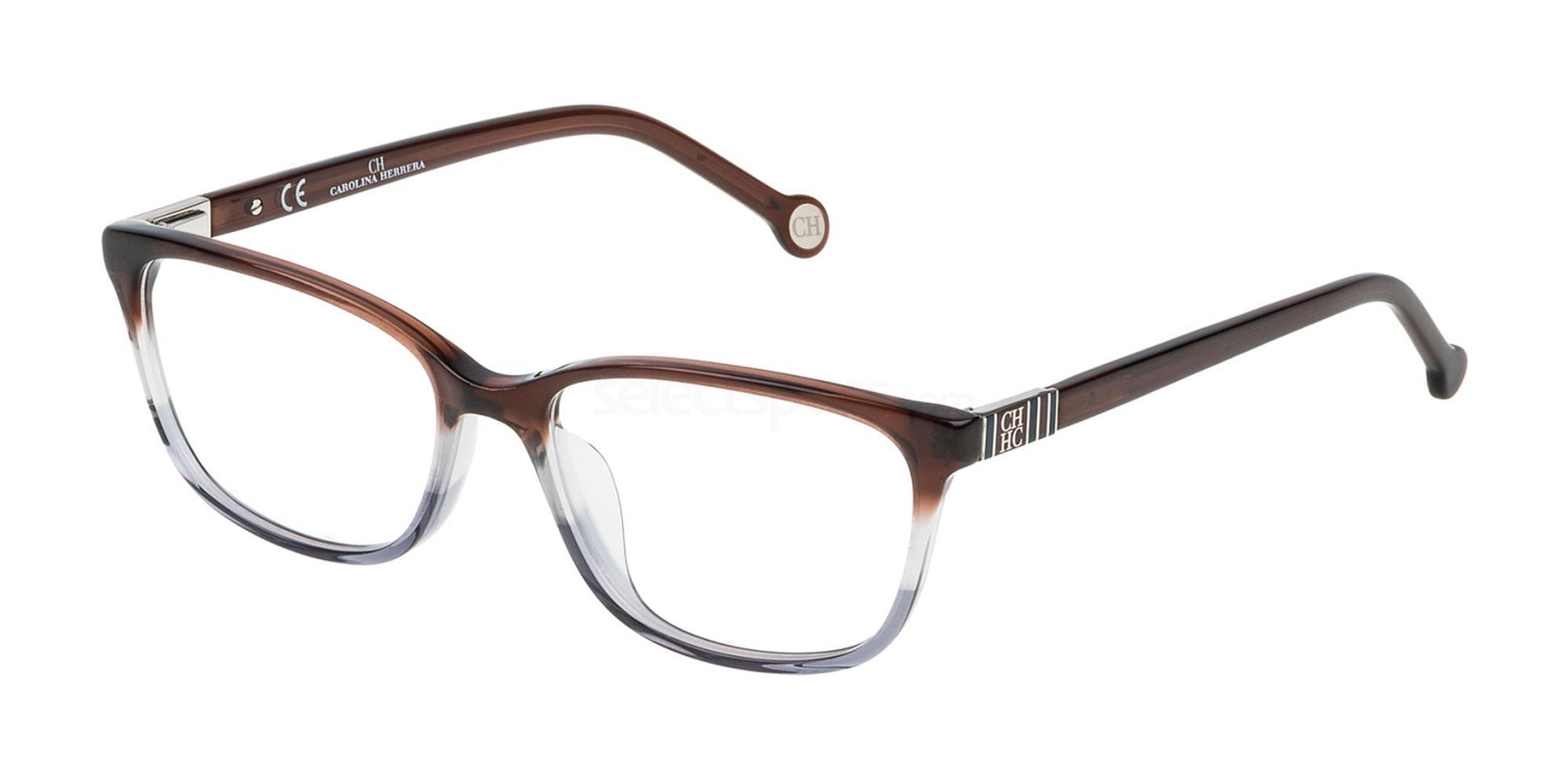 0918 VHE633 Glasses, CH Carolina Herrera