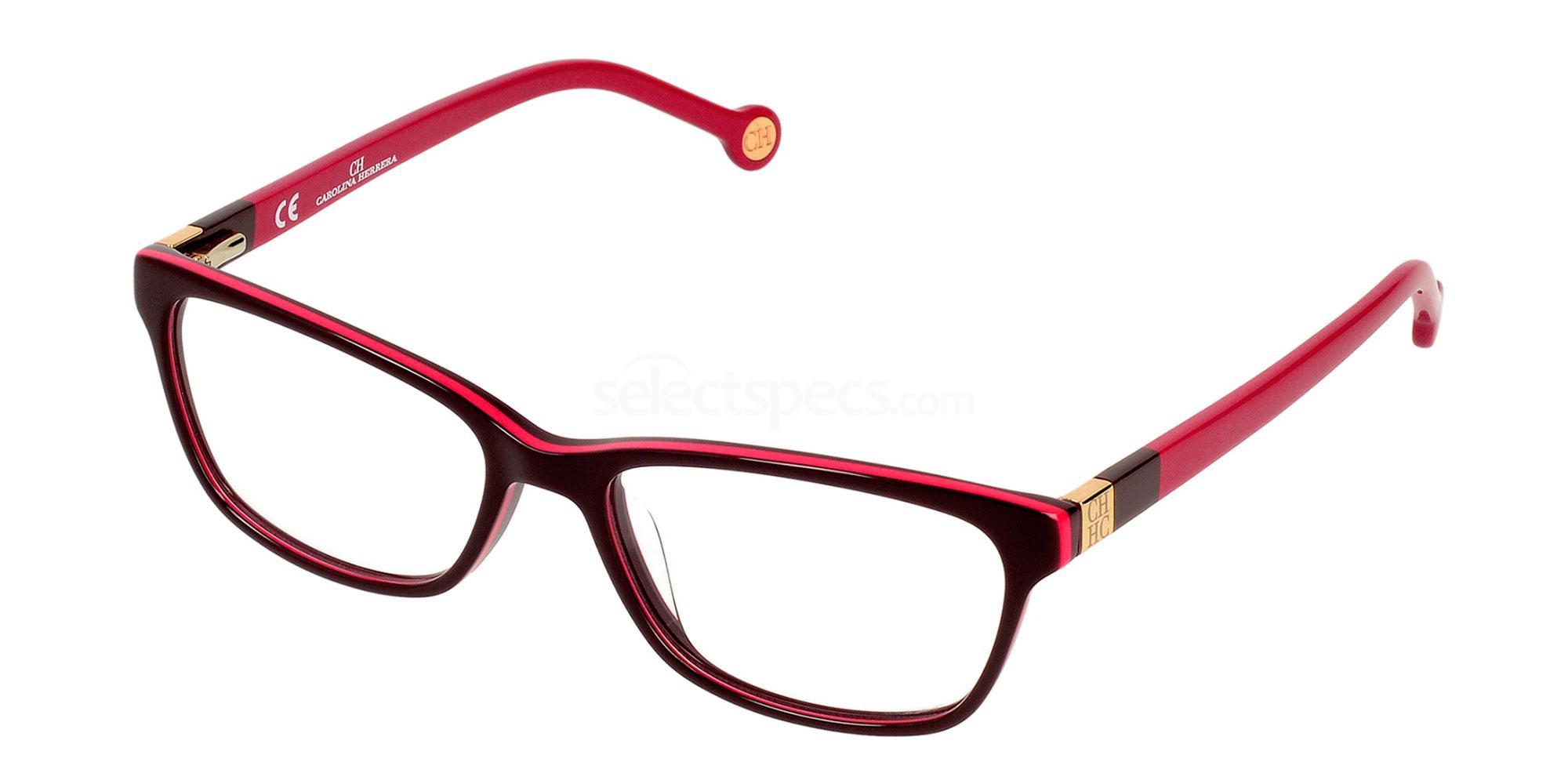 01DJ VHE583 Glasses, CH Carolina Herrera