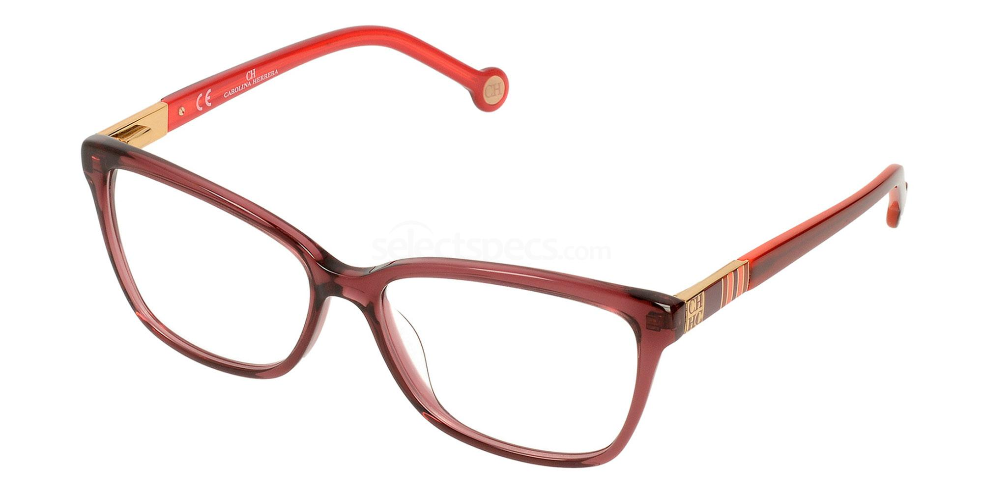 06WJ VHE584 Glasses, CH Carolina Herrera