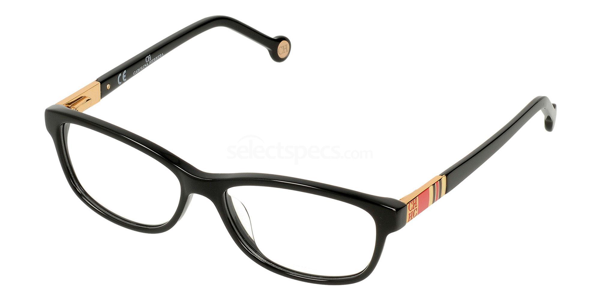 0700 VHE584 Glasses, CH Carolina Herrera