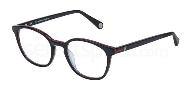 01BT VHE707 Glasses, CH Carolina Herrera