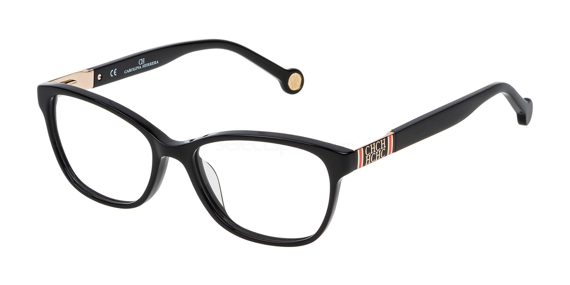 0700 VHE709 Glasses, CH Carolina Herrera