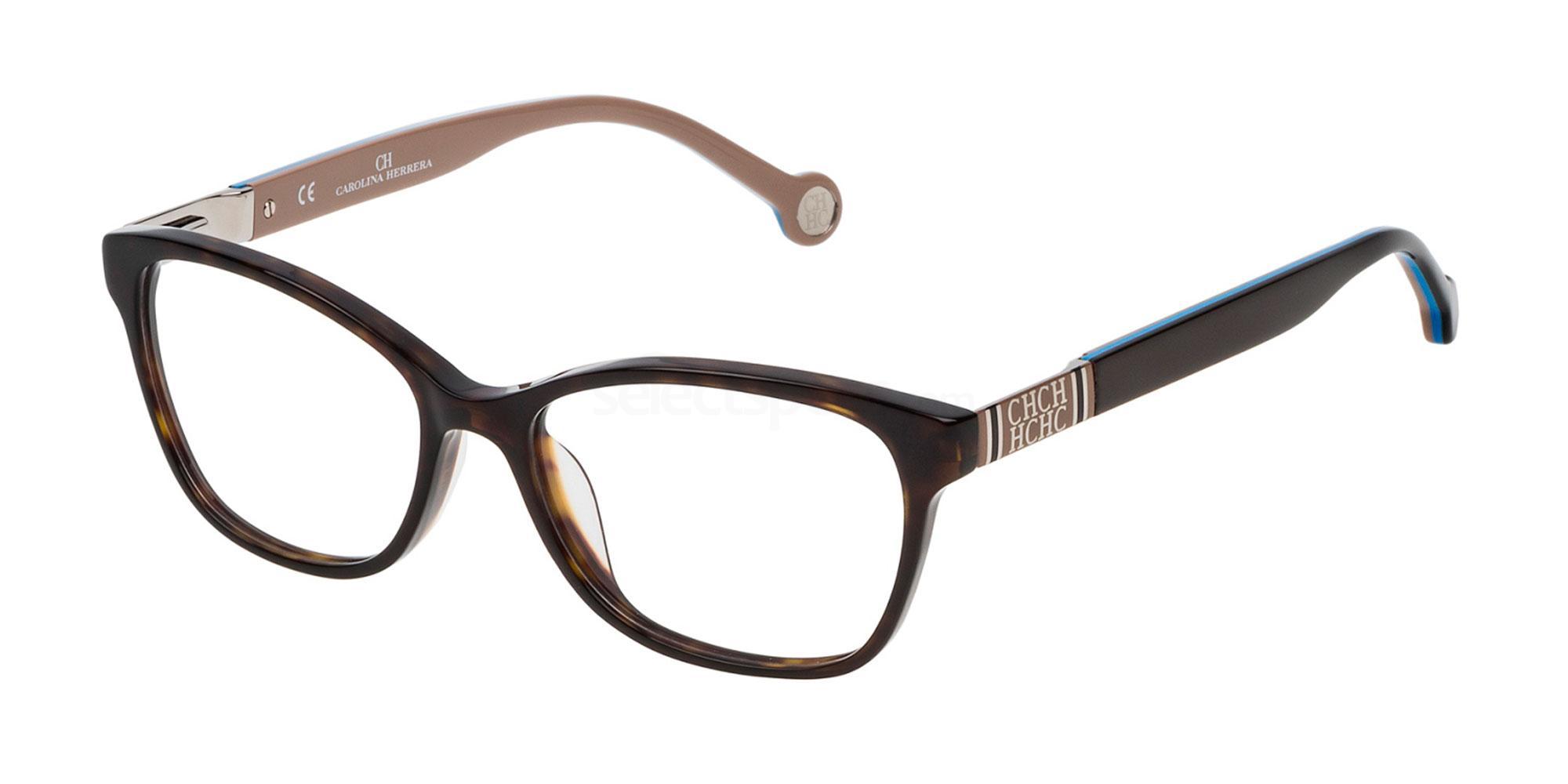 0722 VHE709 Glasses, CH Carolina Herrera