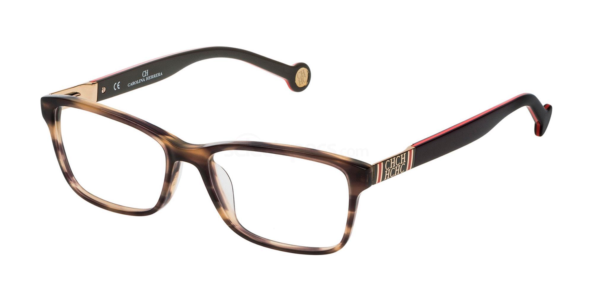 06HN VHE711 Glasses, CH Carolina Herrera