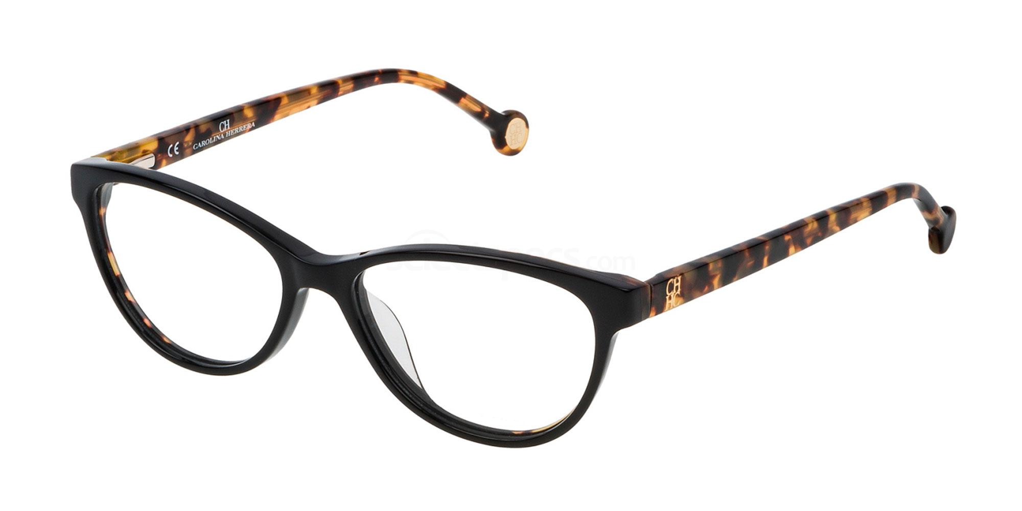 0700 VHE718L Glasses, CH Carolina Herrera