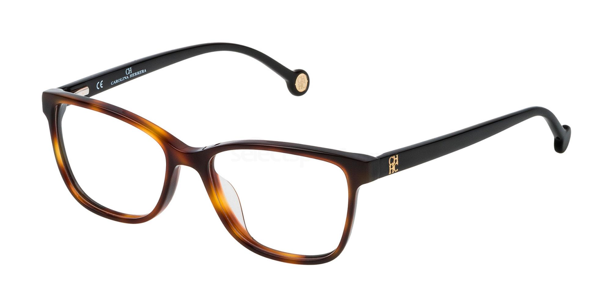 0752 VHE719L Glasses, CH Carolina Herrera