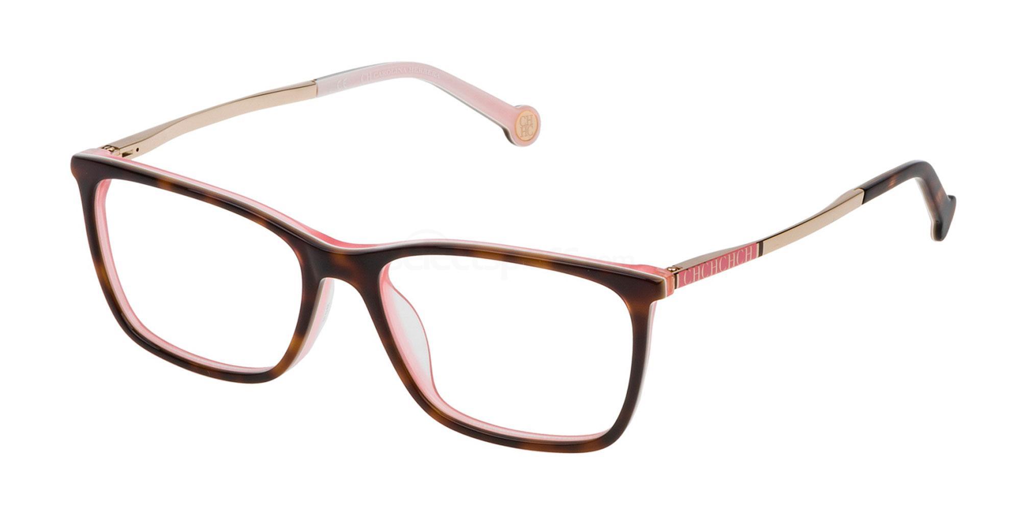 06YD VHE722 Glasses, CH Carolina Herrera