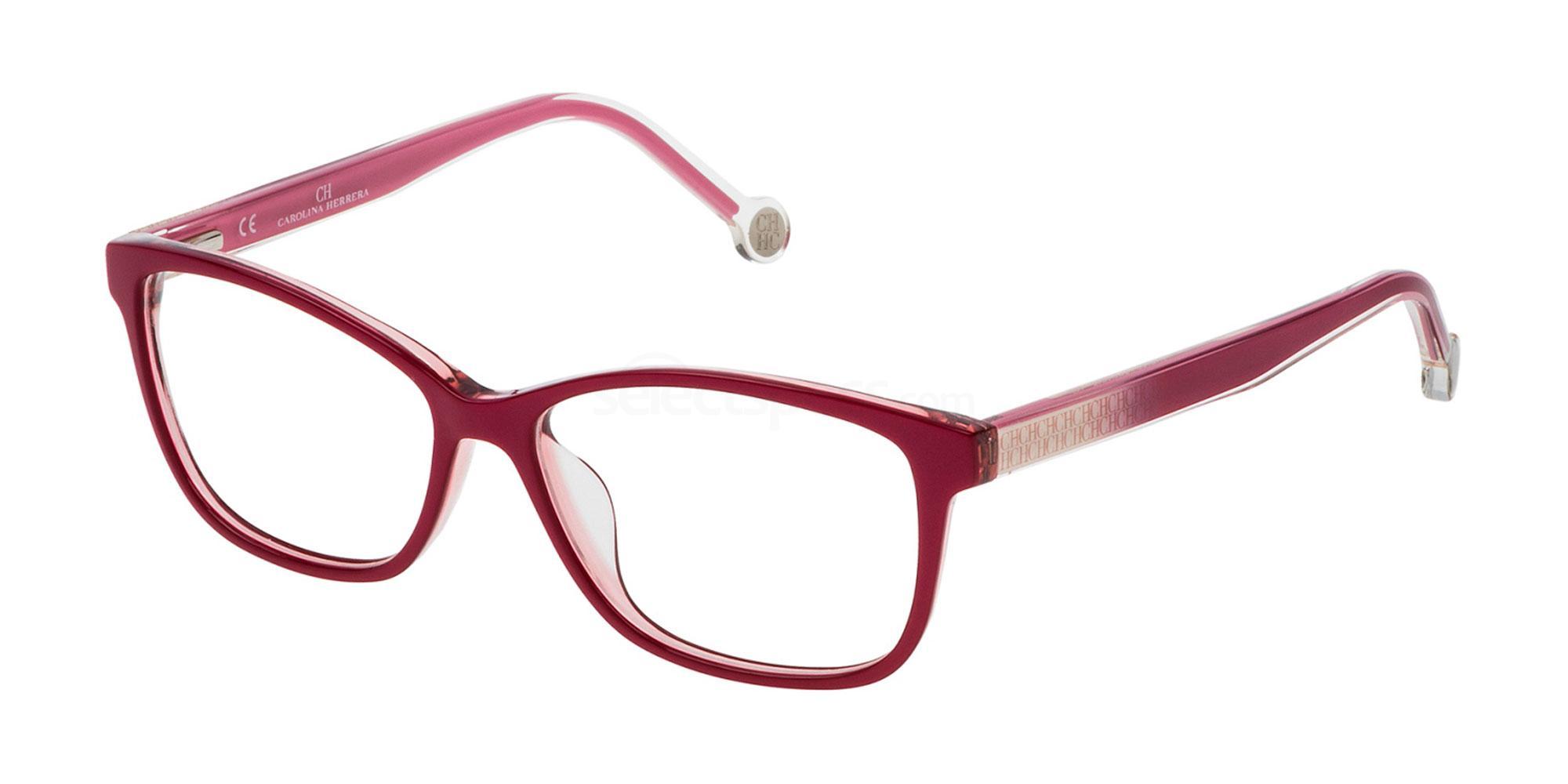 0B42 VHE723 Glasses, CH Carolina Herrera