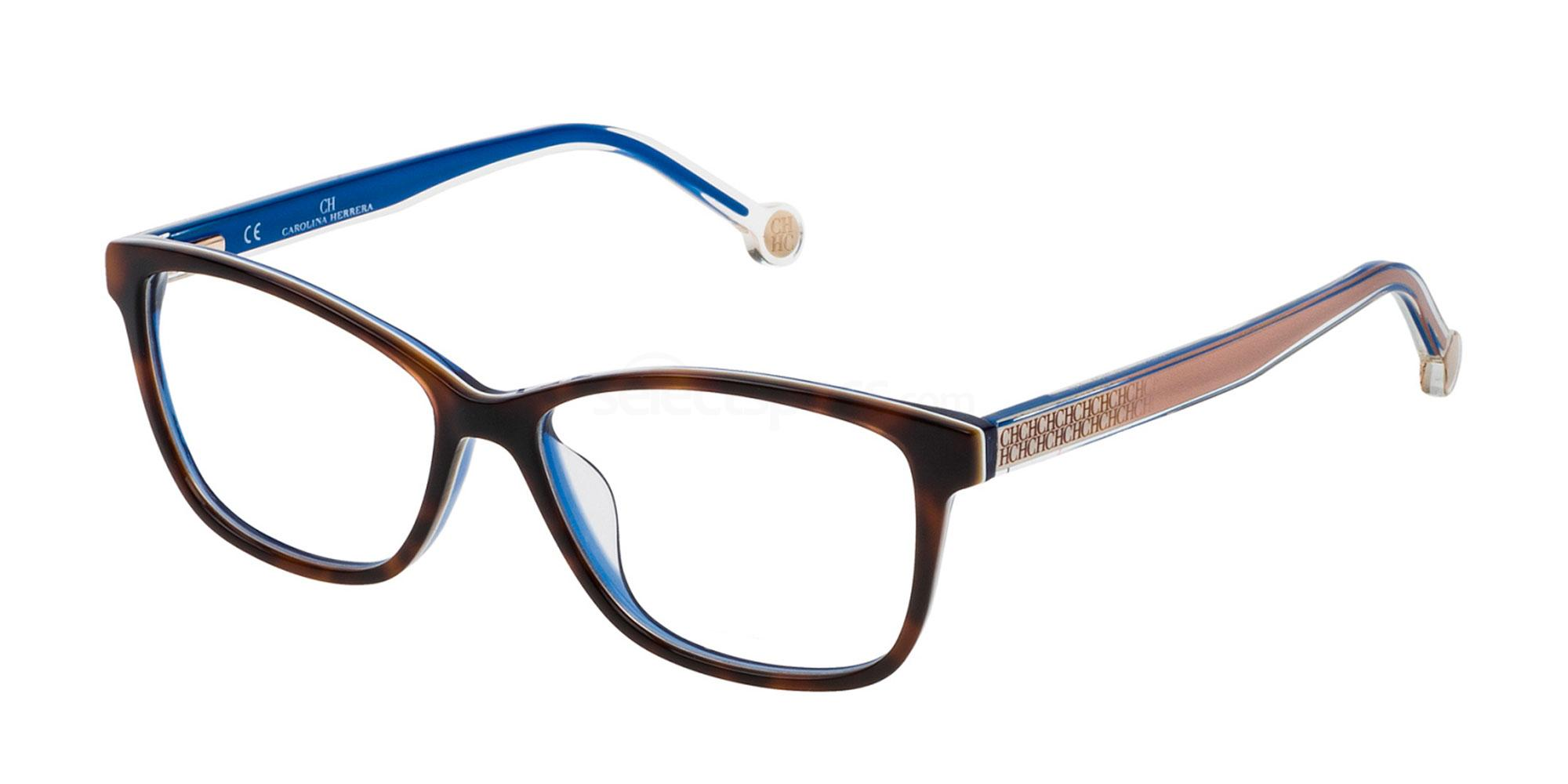 0V35 VHE723 Glasses, CH Carolina Herrera