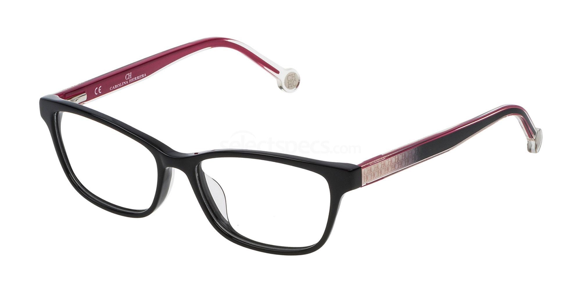 0700 VHE725L Glasses, CH Carolina Herrera