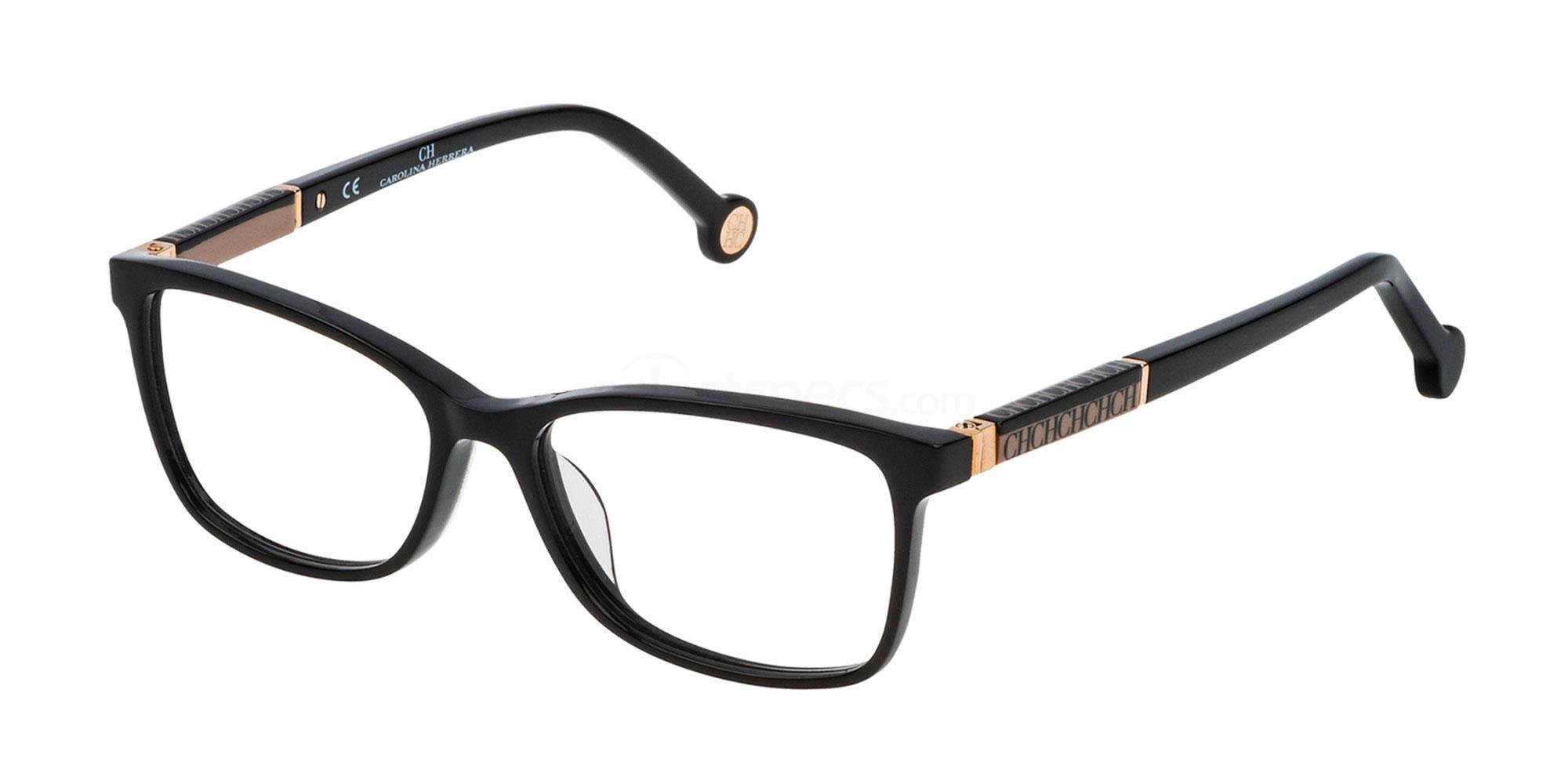 0700 VHE733L Glasses, CH Carolina Herrera