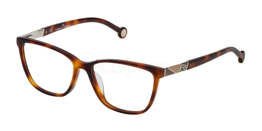 0752 VHE761 Glasses, CH Carolina Herrera