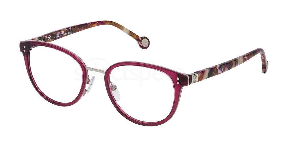 01CK VHE727 Glasses, CH Carolina Herrera