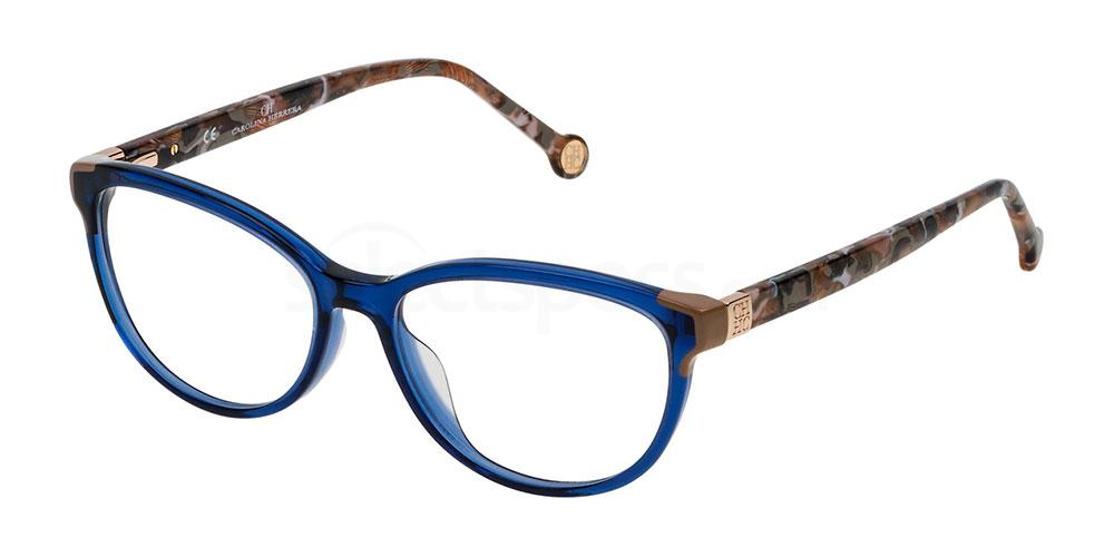 0892 VHE739 Glasses, CH Carolina Herrera