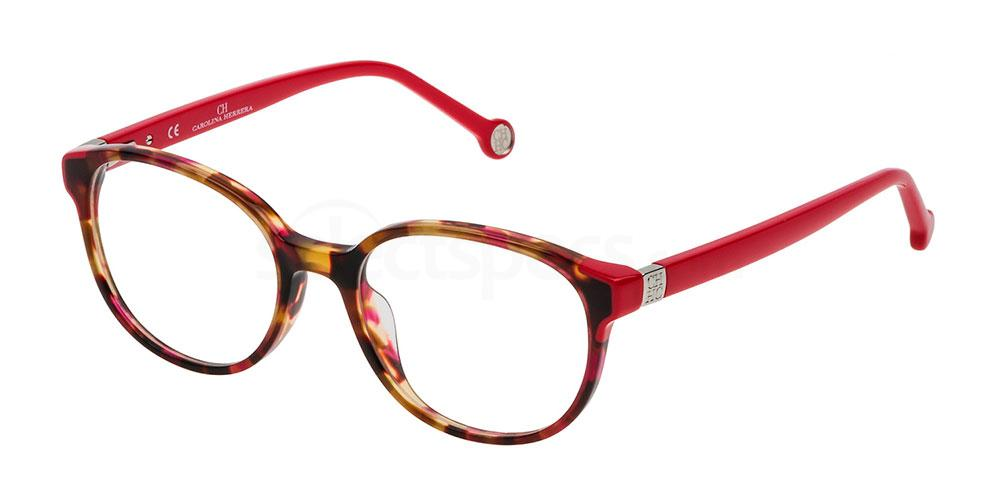 01GQ VHE740 Glasses, CH Carolina Herrera