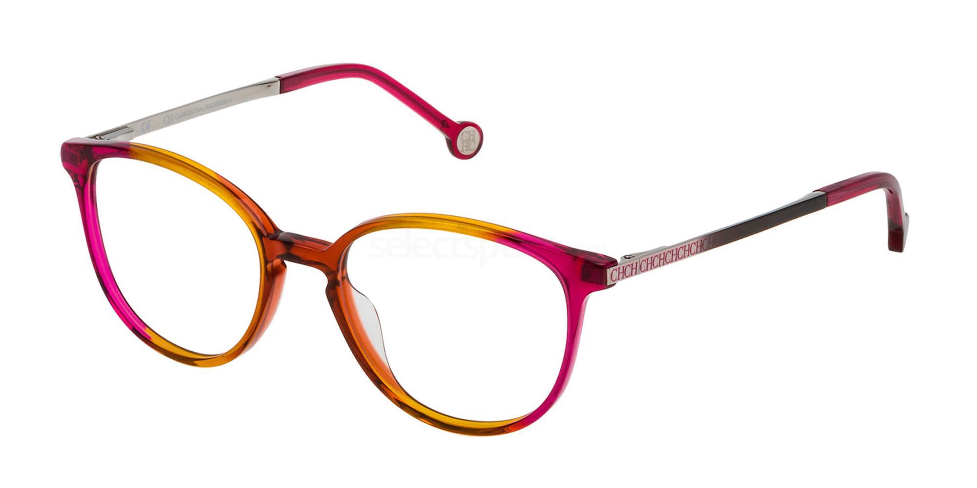 0N81 VHE759 Glasses, CH Carolina Herrera