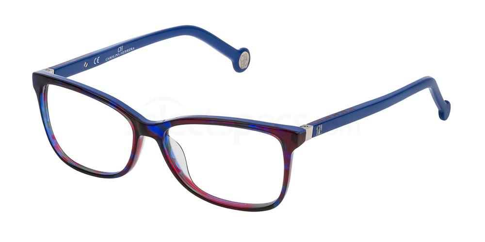 07QM VHE732 Glasses, CH Carolina Herrera