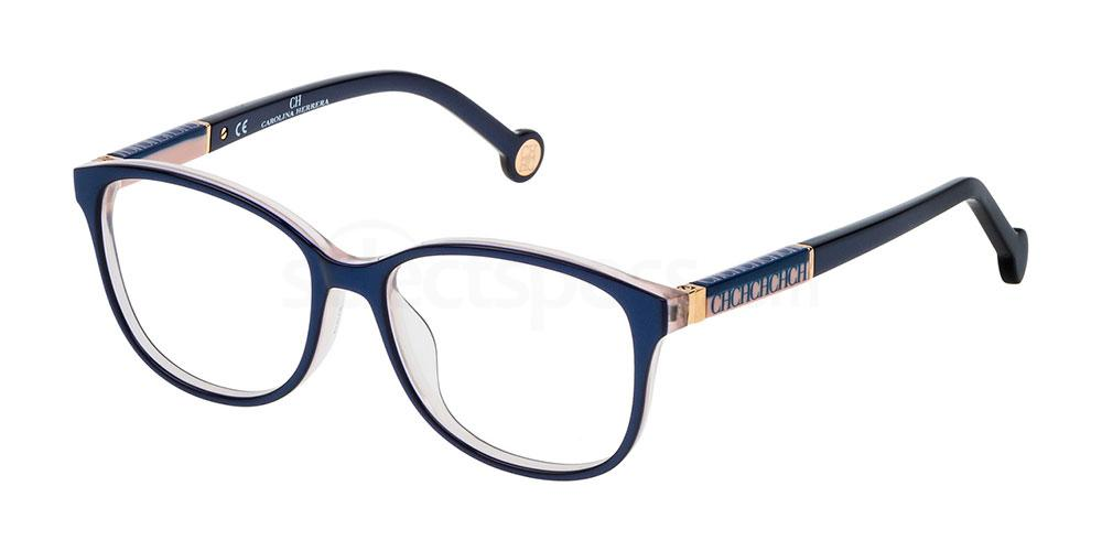 09MF VHE734L Glasses, CH Carolina Herrera