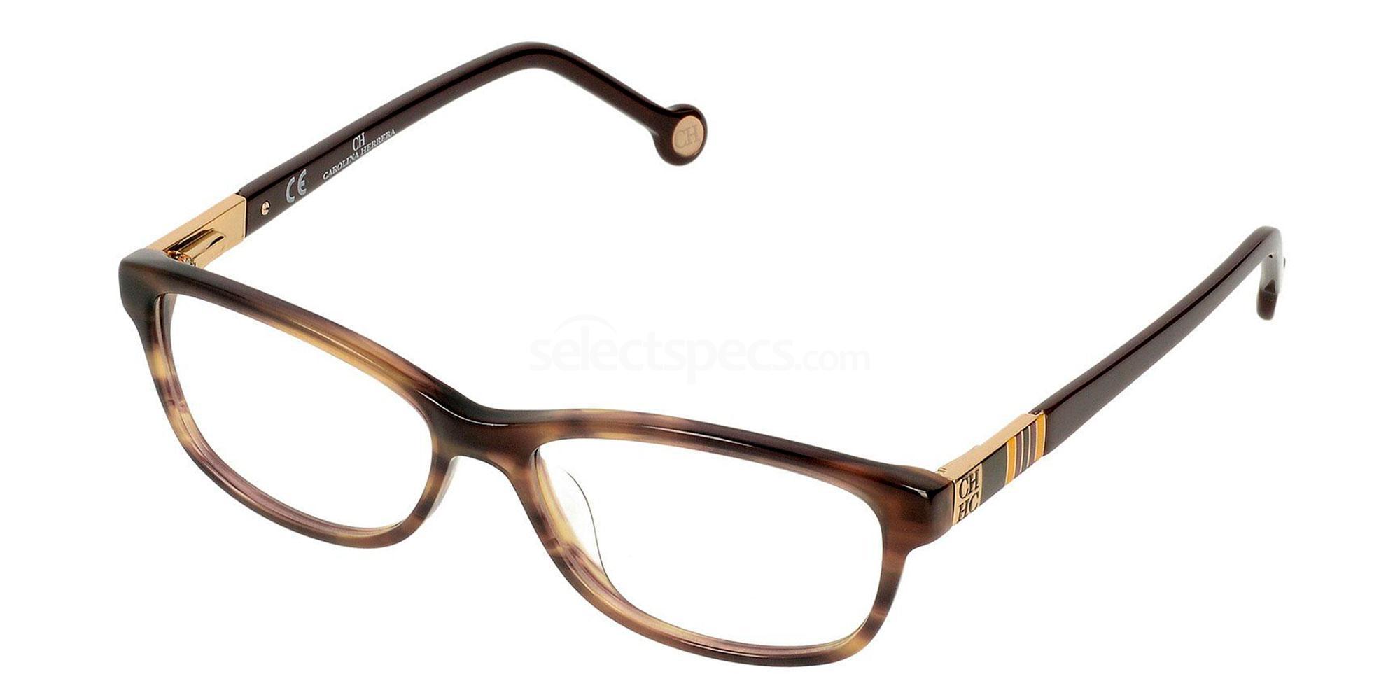 0W48 VHE585 Glasses, CH Carolina Herrera