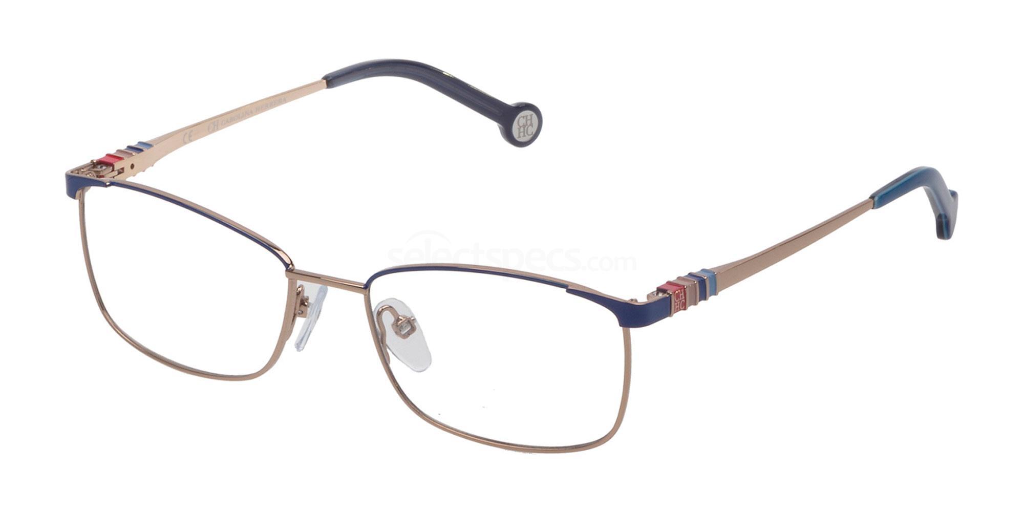 02A8 VHE114L Glasses, CH Carolina Herrera
