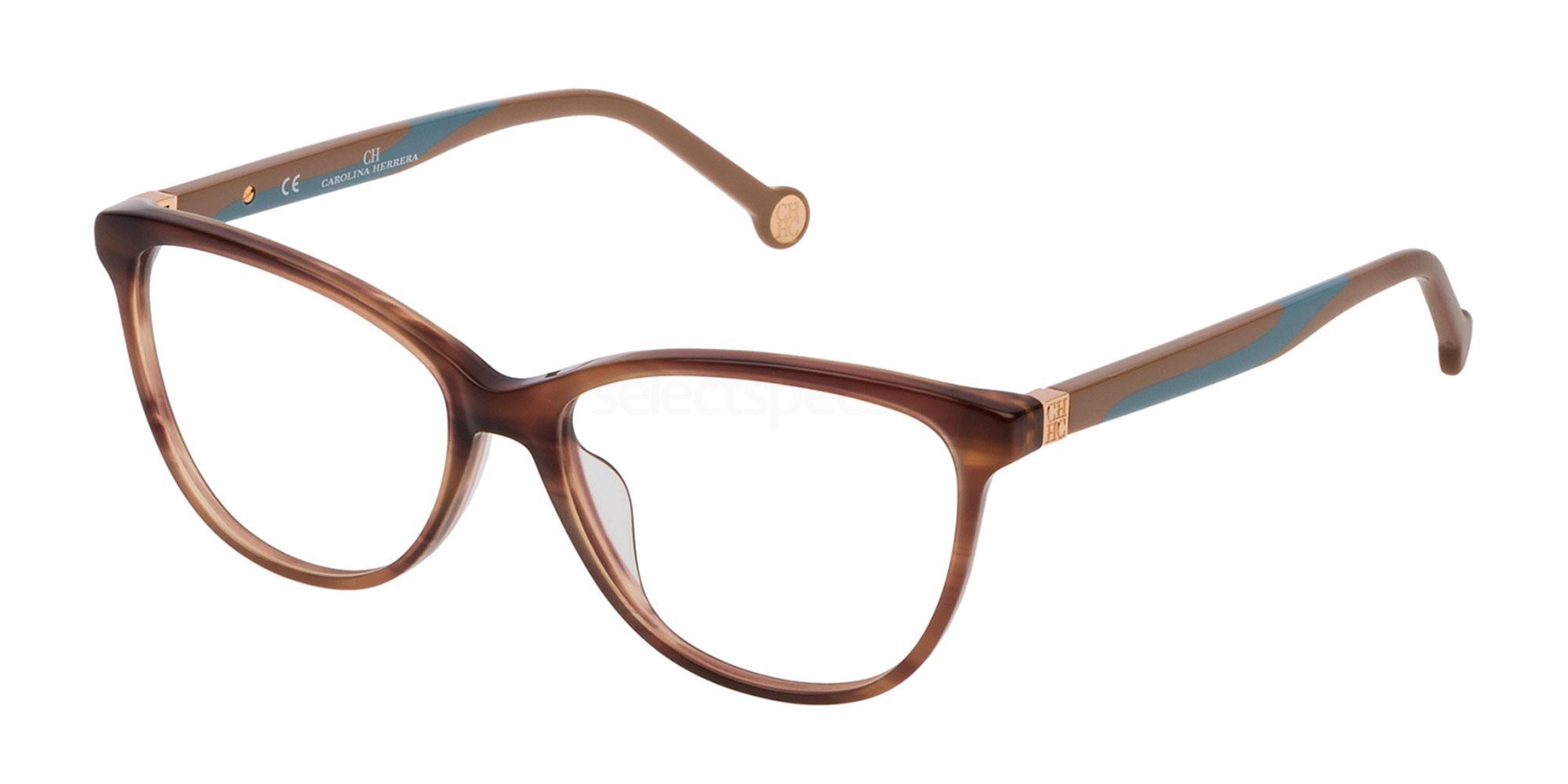 06YZ VHE770 Glasses, CH Carolina Herrera