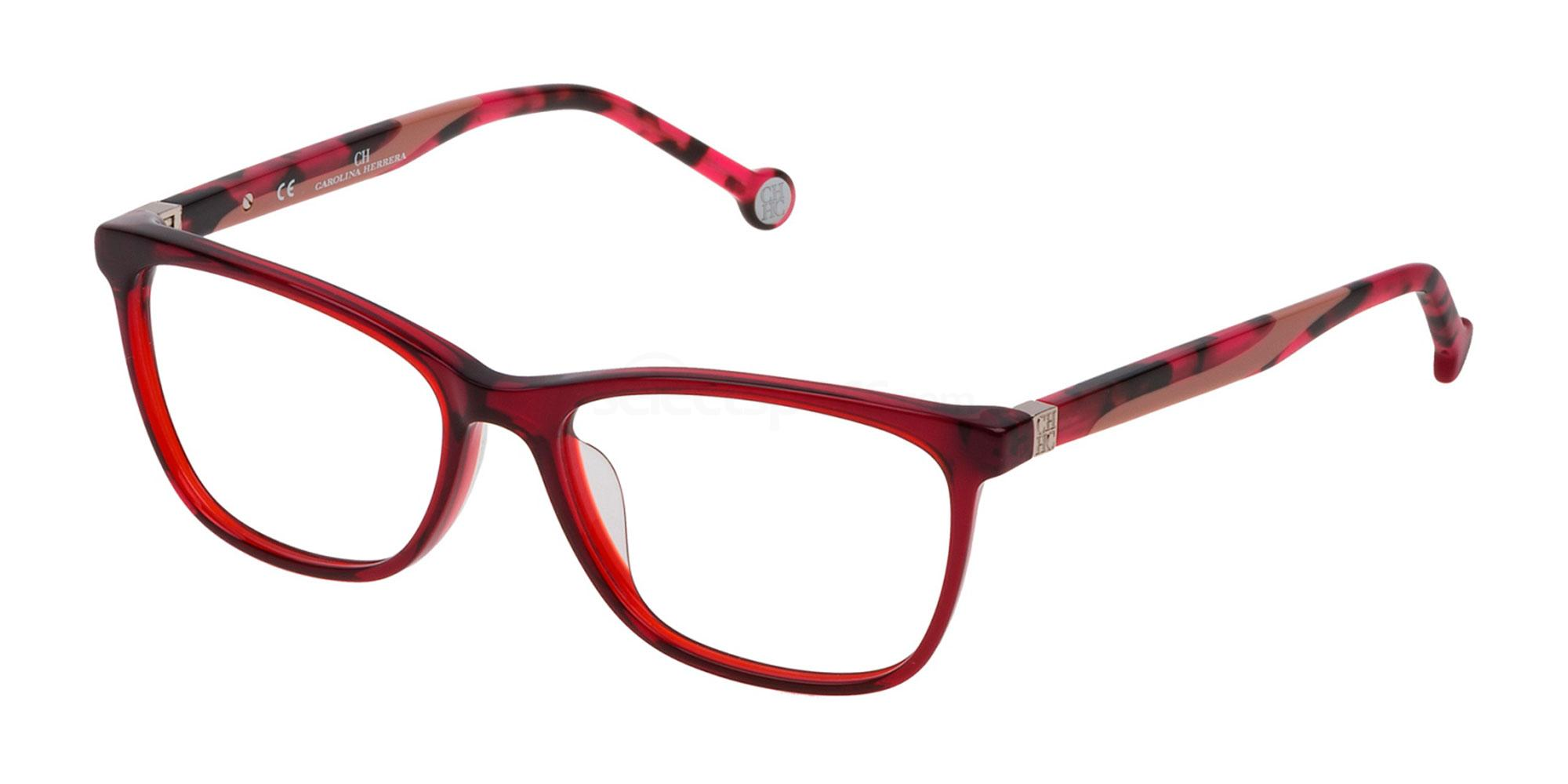 06DC VHE771 Glasses, CH Carolina Herrera