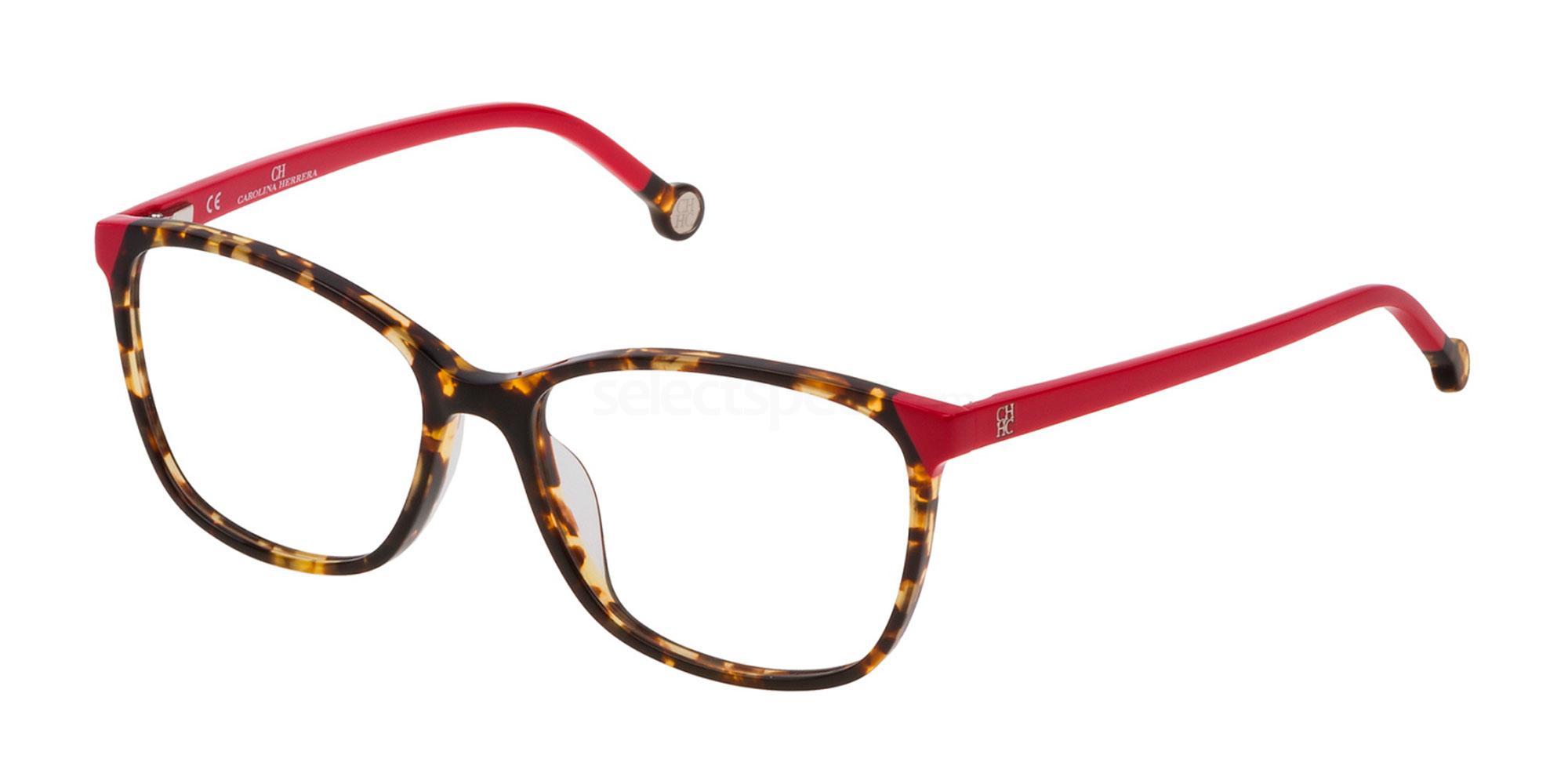 0741 VHE773 Glasses, CH Carolina Herrera