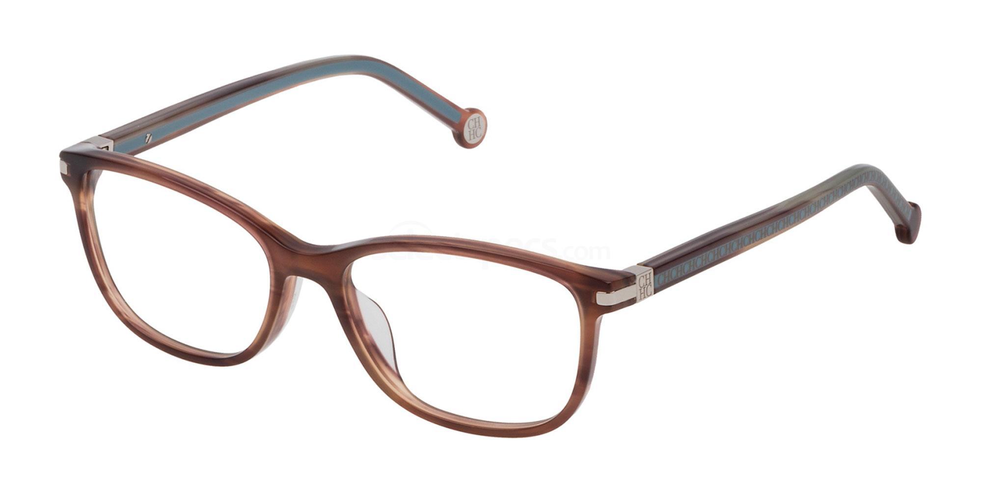 06YZ VHE774L Glasses, CH Carolina Herrera