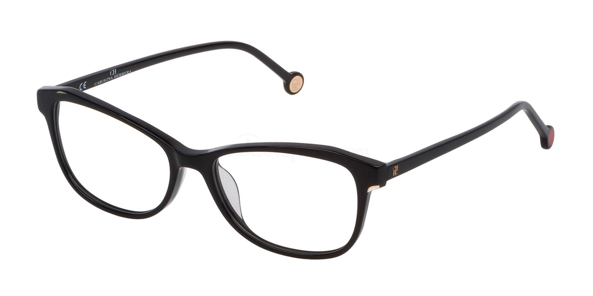 0700 VHE776 Glasses, CH Carolina Herrera