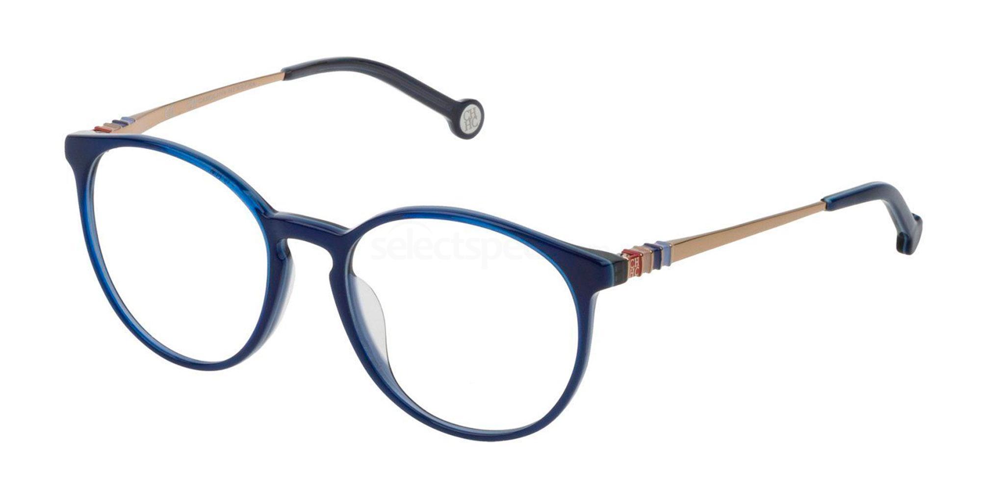 06N4 VHE779 Glasses, CH Carolina Herrera