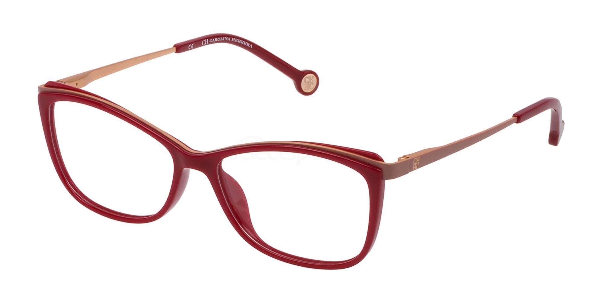 01AW VHE782 Glasses, CH Carolina Herrera