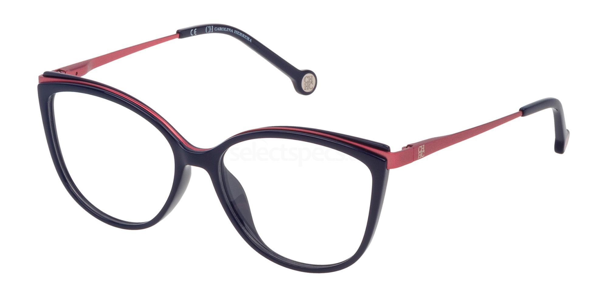 07A5 VHE783 Glasses, CH Carolina Herrera