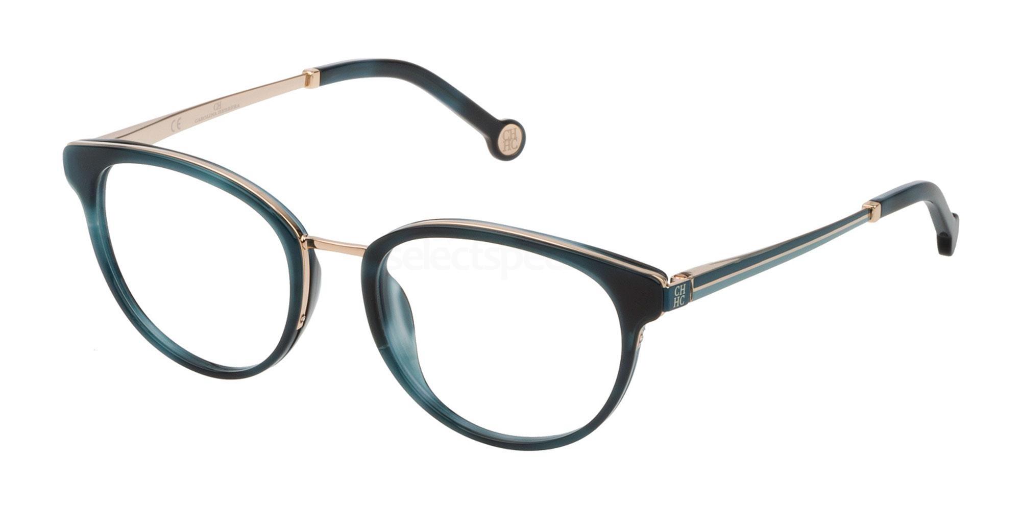 06DQ VHE124 Glasses, CH Carolina Herrera