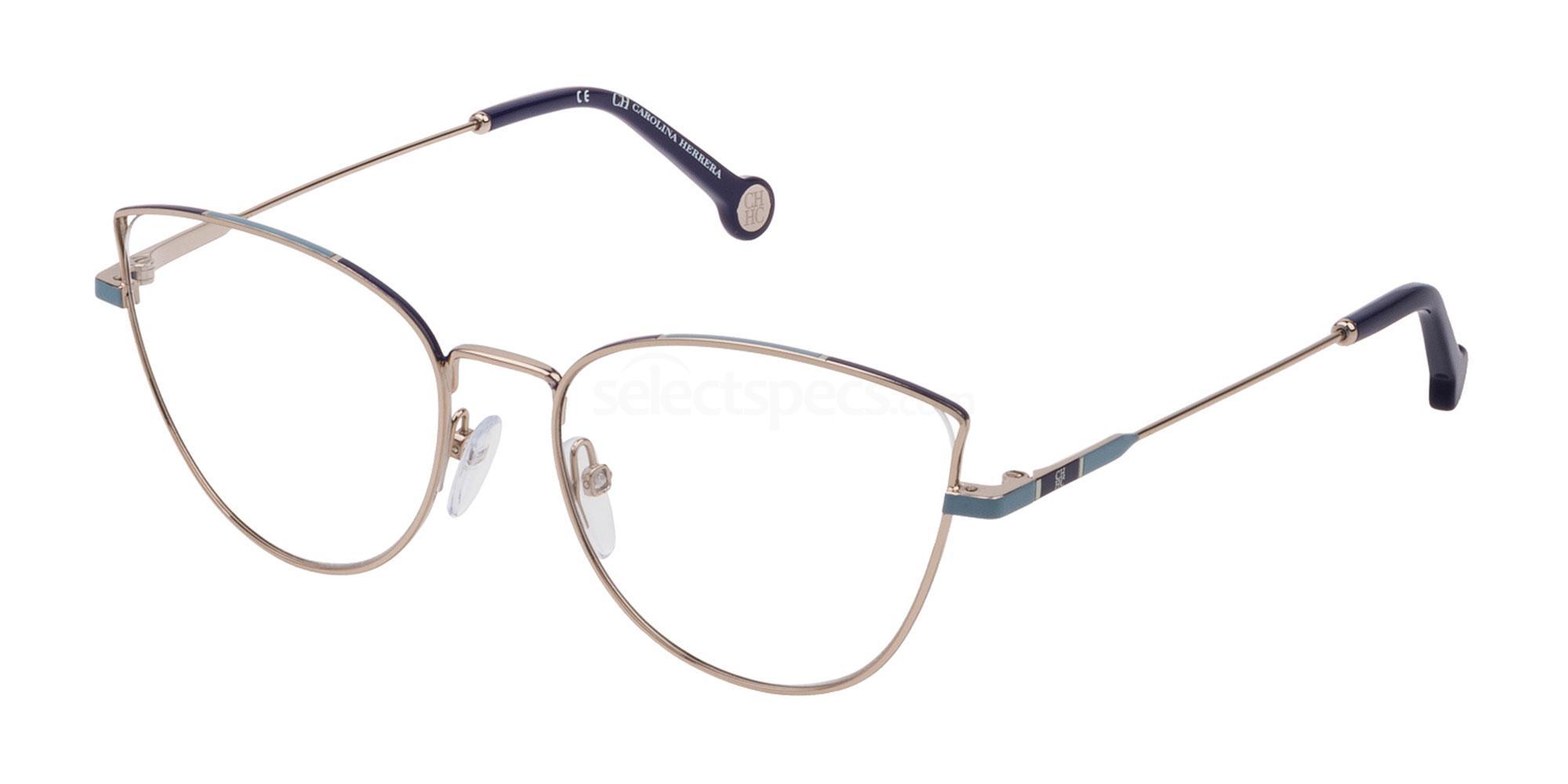 0594 VHE132 Glasses, CH Carolina Herrera