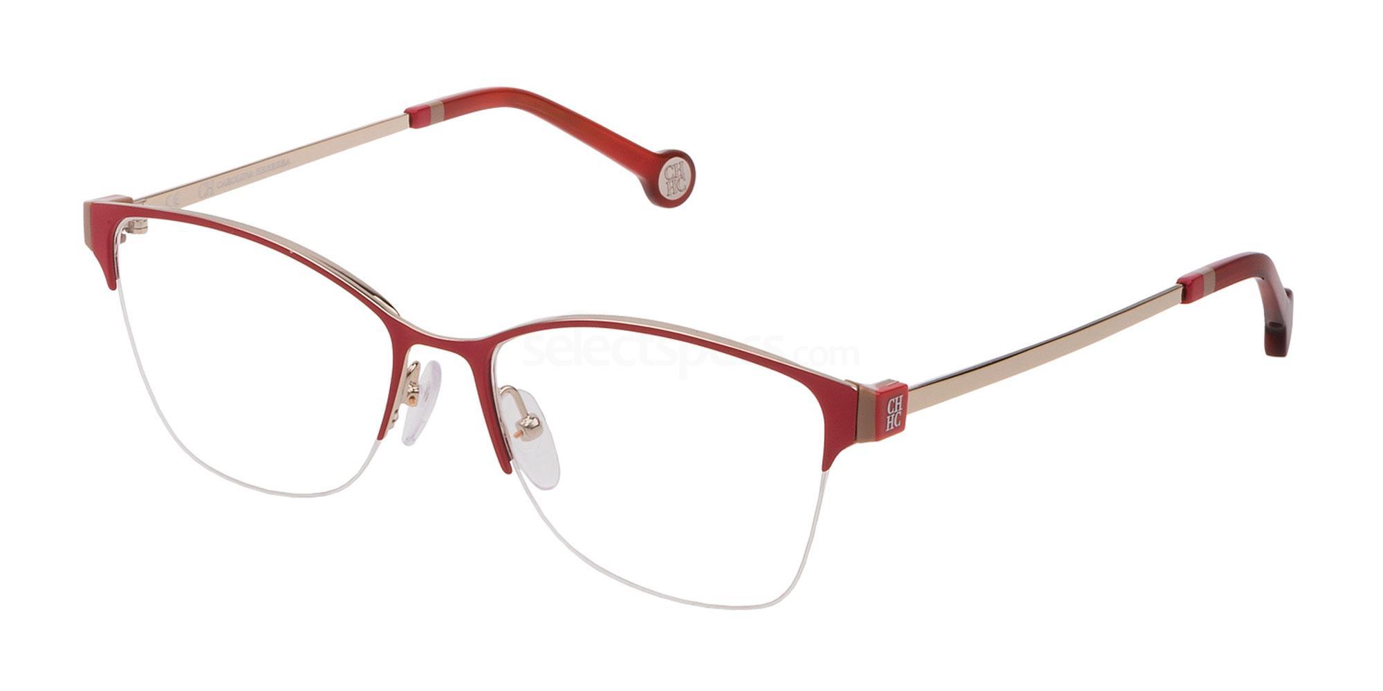 0178 VHE137 Glasses, CH Carolina Herrera