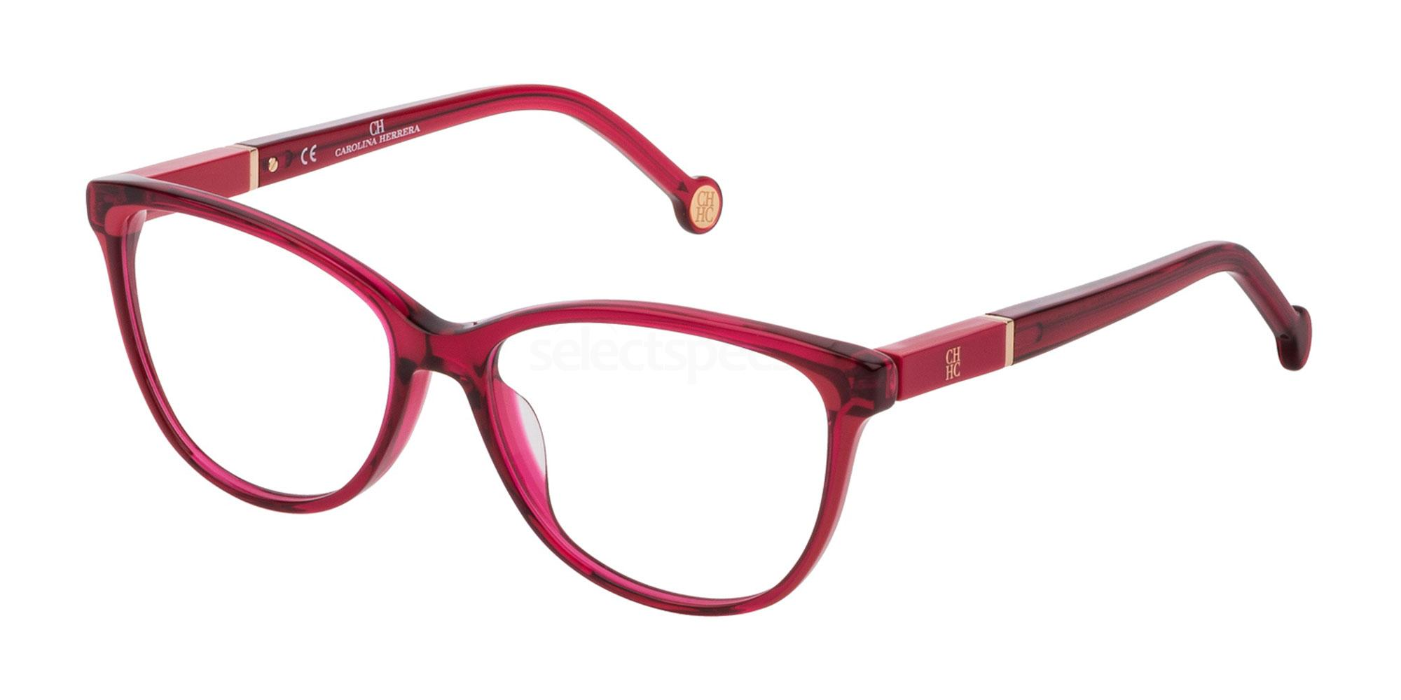 0AFD VHE813 Glasses, CH Carolina Herrera