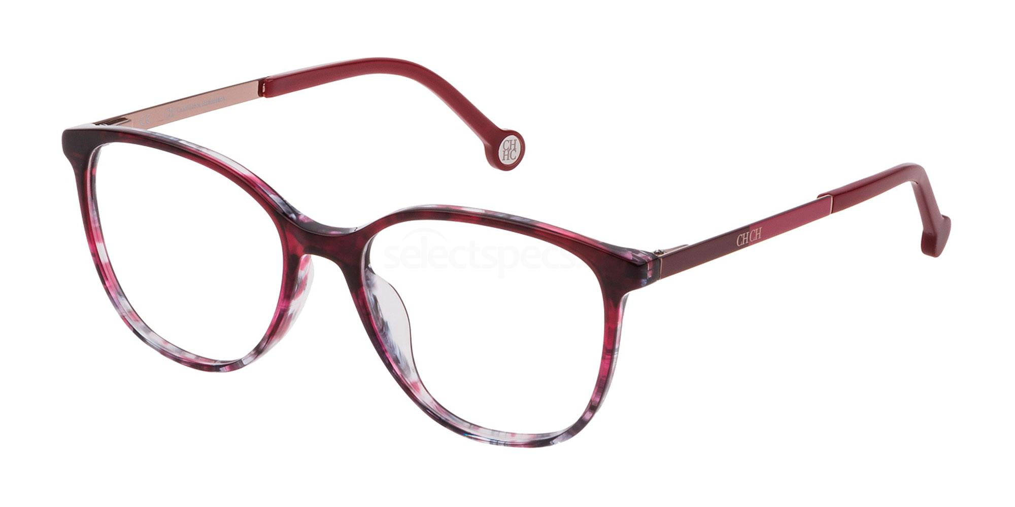 02AS VHE819 Glasses, CH Carolina Herrera