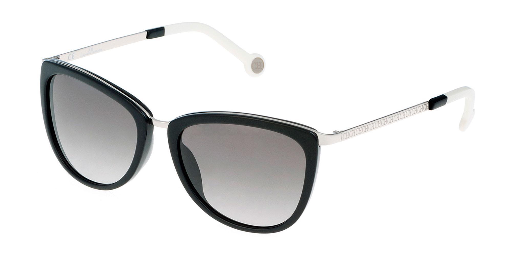 0579 SHE046 Sunglasses, CH Carolina Herrera