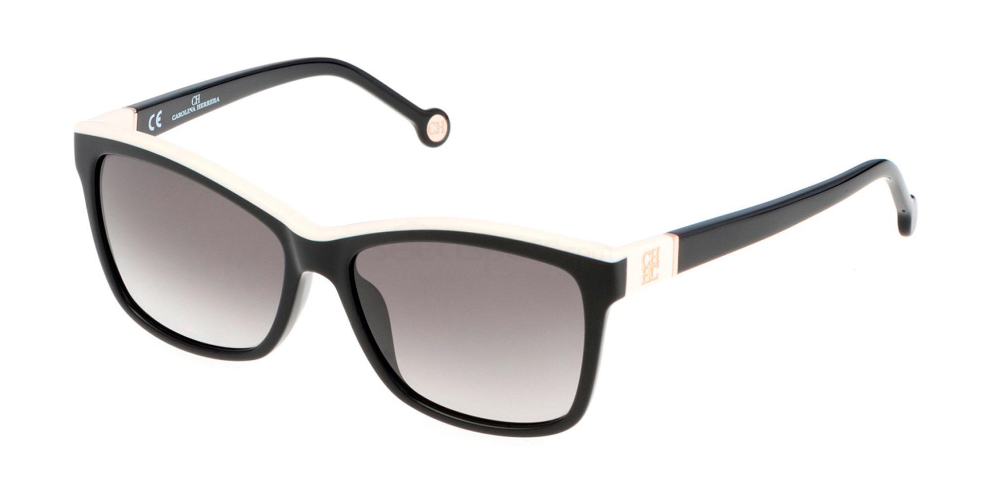 0700 SHE598 Sunglasses, CH Carolina Herrera