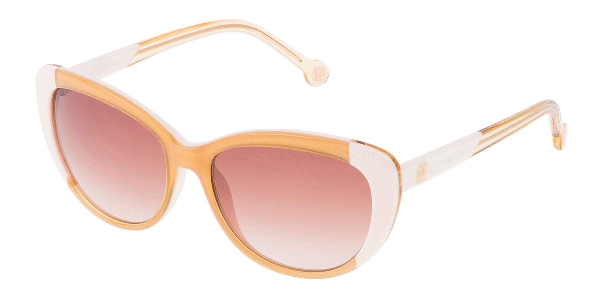 Herrera yellow frame sunglasses