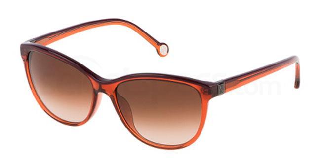 01F3 SHE653 Sunglasses, CH Carolina Herrera