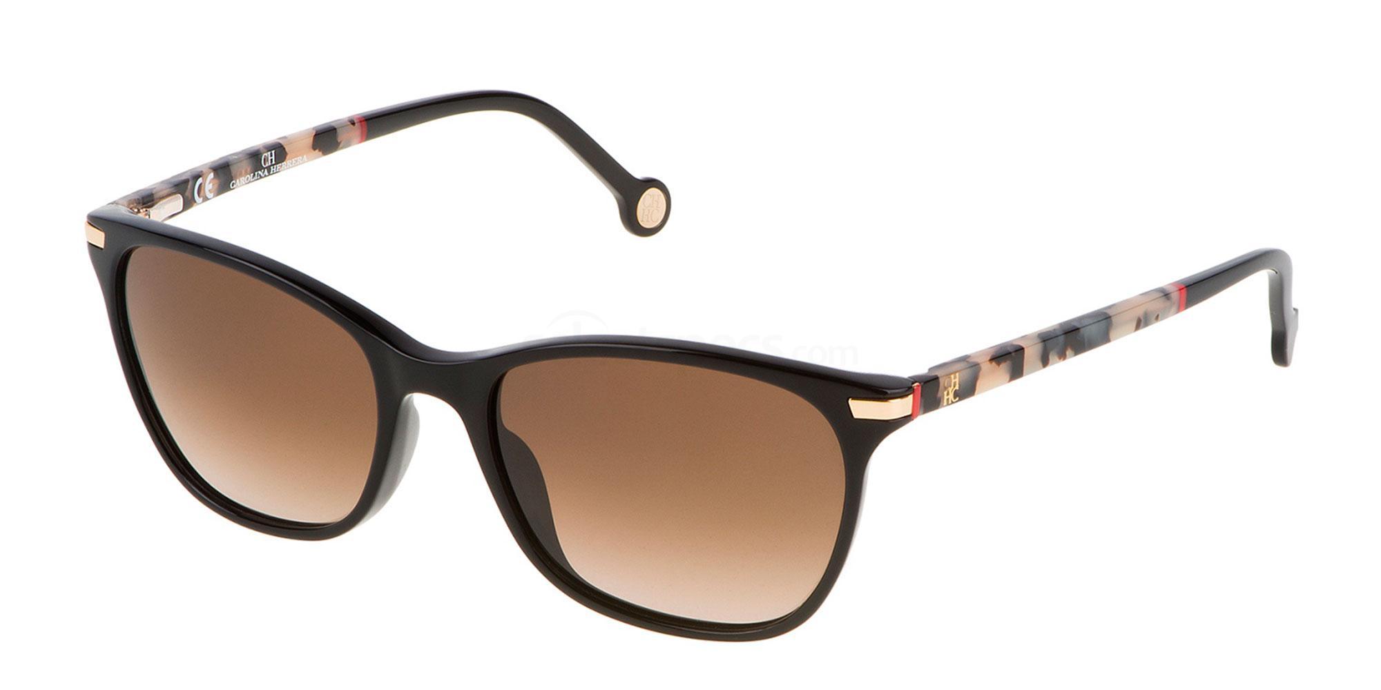 0700 SHE652V Sunglasses, CH Carolina Herrera