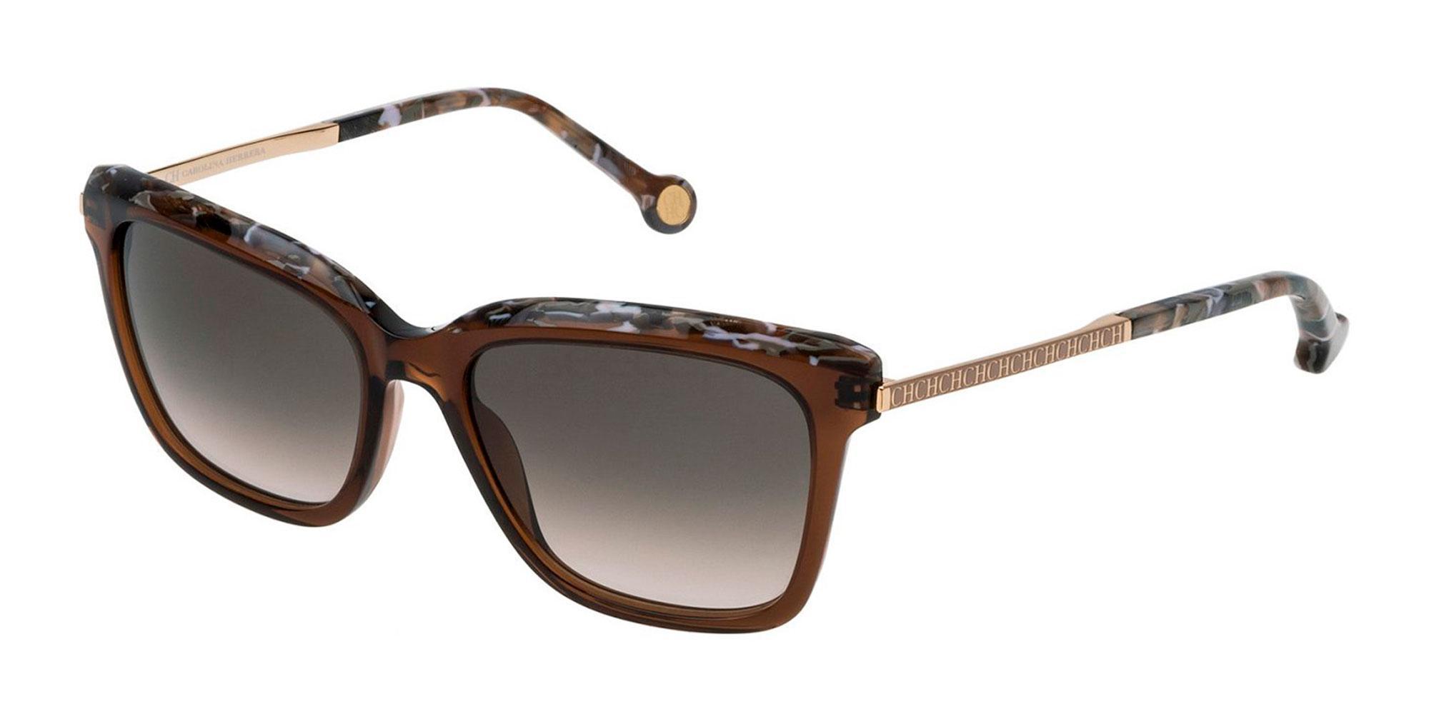 09GW SHE689 Sunglasses, CH Carolina Herrera