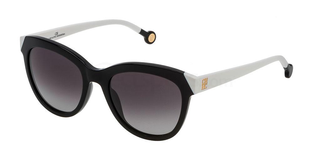 0700 SHE743 Sunglasses, CH Carolina Herrera