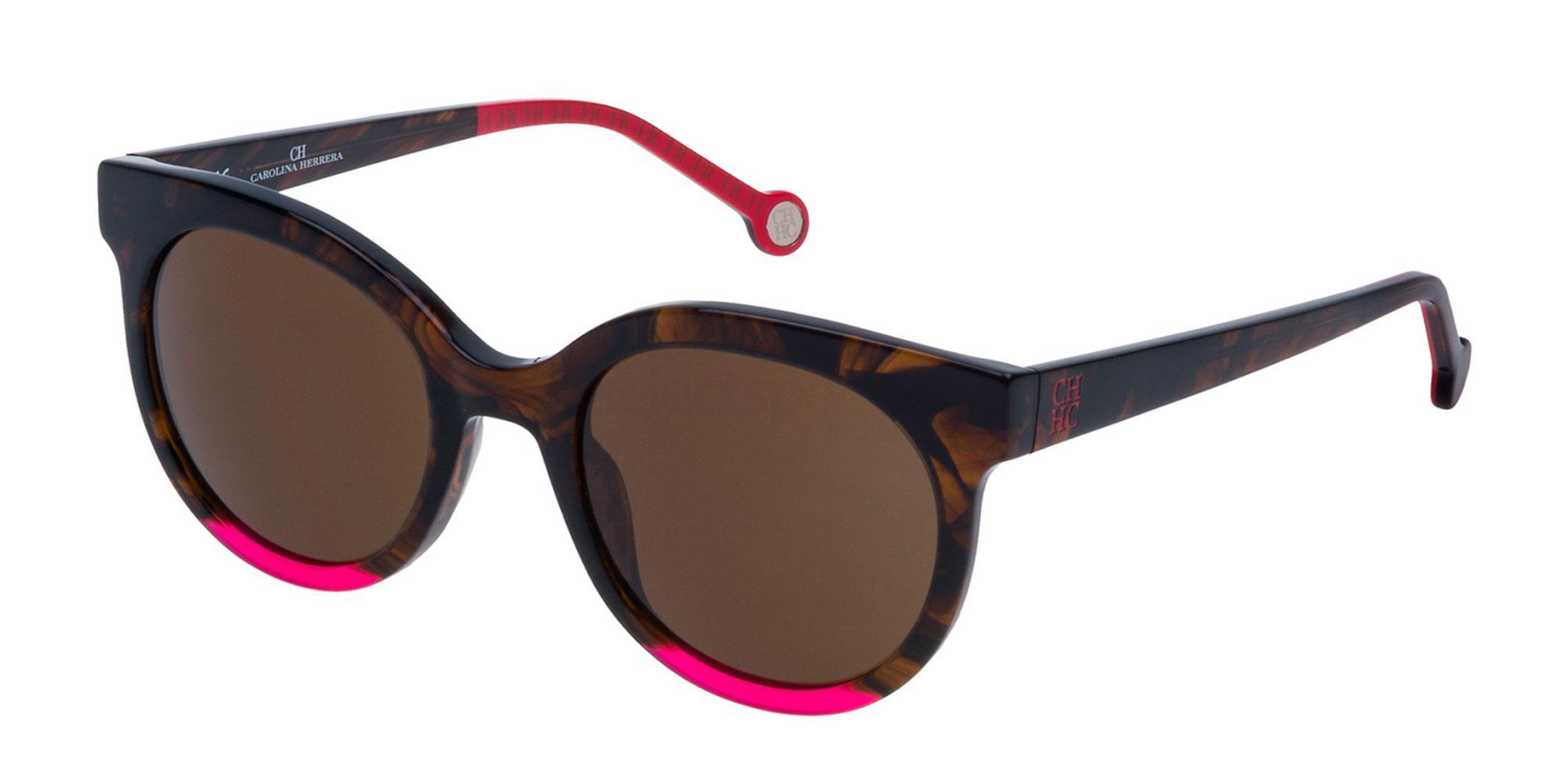 06YH SHE745 Sunglasses, CH Carolina Herrera